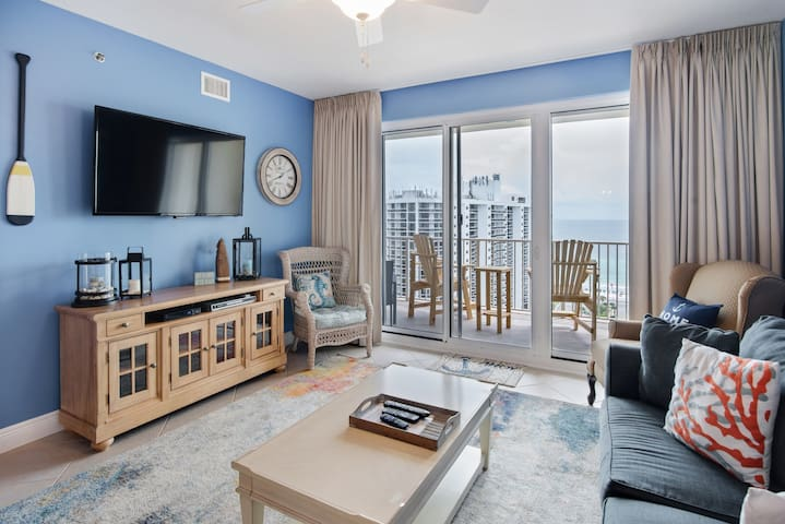 After Dune Delight ~15th Floor Gulf View~ 2BR/2BA