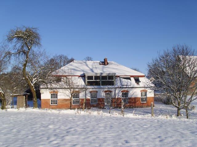 Urlaub im mecklenburgischem Landhaus - Langhagen - House