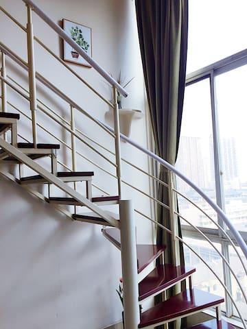 【壹見】宽窄巷子旁北欧风格loft 美食摄影小舍 每个房间都是一个小宇宙 - Chengdu - Leilighet