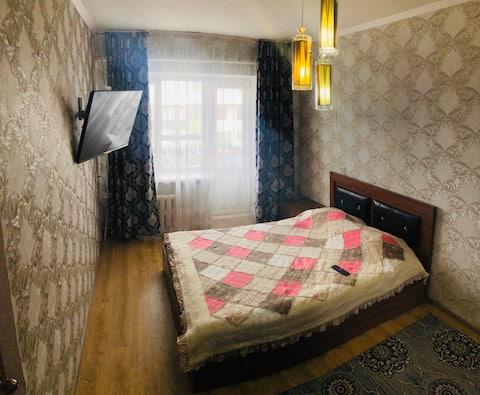 Clean and bright apar. Azattyk st. Уютная квартира