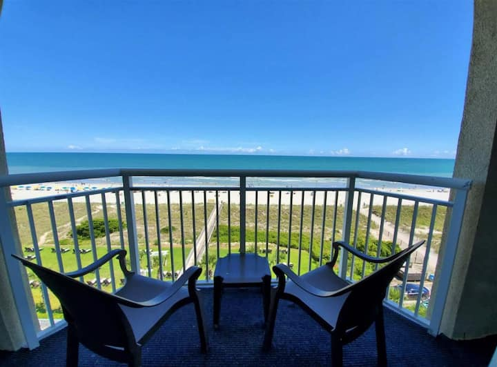 ⭐ Direct Oceanfront, Private Balcony, NEWLY ADDED!