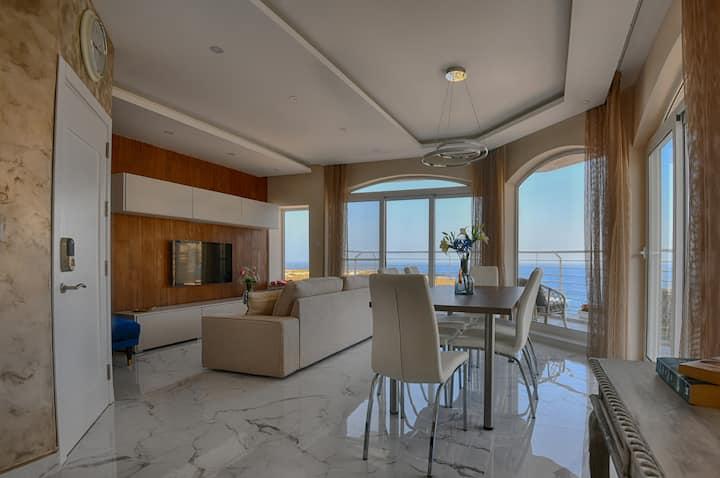 Designer Finished SeaView Apartment