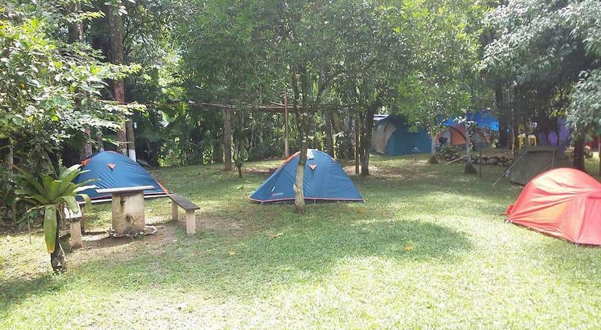Camping Moria - Iporanga - Tenda de campanya