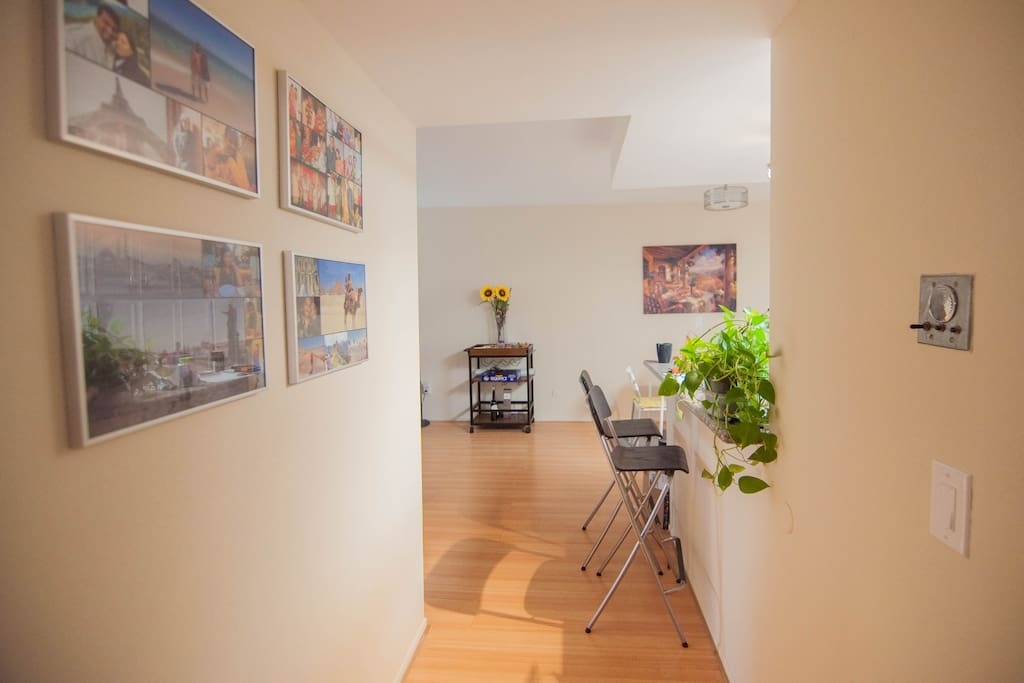 Living area passage
