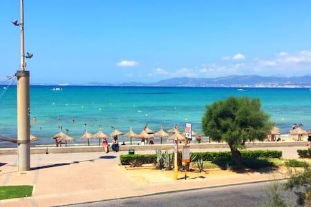 160m² beachfront apartment at Playa de Palma. - Palma - Apartmen