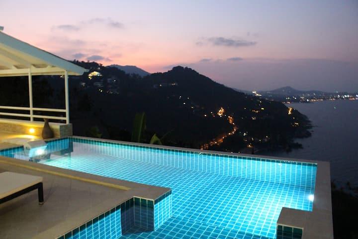 BestView2BRVilla-Private Pool+180° Island Sea View