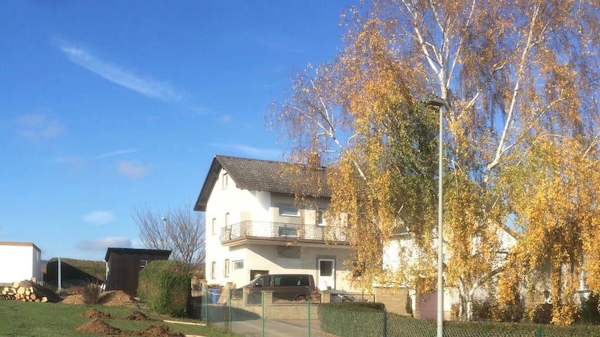 Ferienwohnung Schlossblick, 3 Zimmer mit Balkon - Geisenheim - Apartment