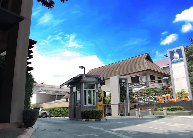 Condominium is close by BTS station