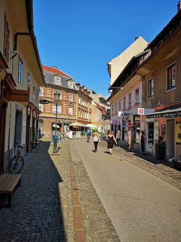 "Studio ""Old heart of Ljubljana""  Best location"