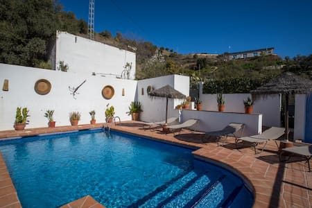 Casa rural con piscina y barbacoa. - Almogía - 獨棟