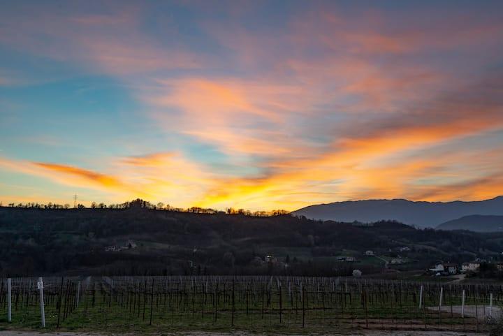 I tramonti sulle nostre colline