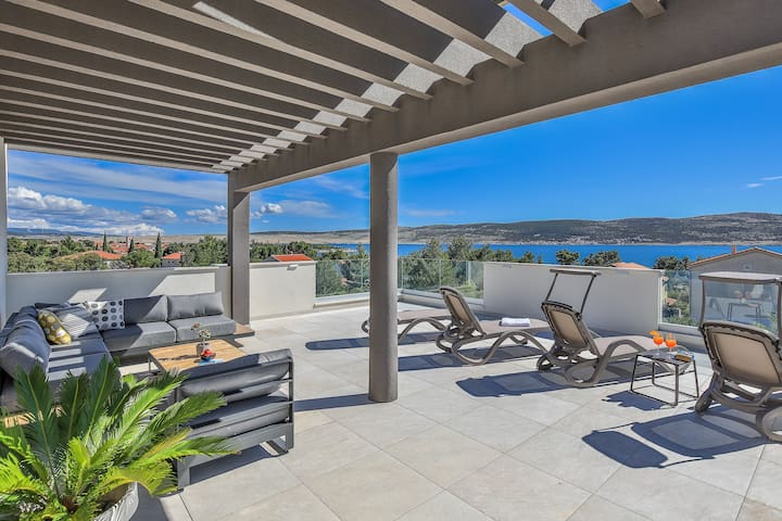 Villa ''Jimmy'' - with pool and panoramic terrace