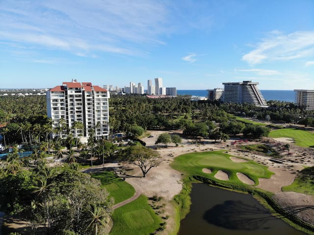 Departamento de Lujo Acapulco Diamante Campo Golf