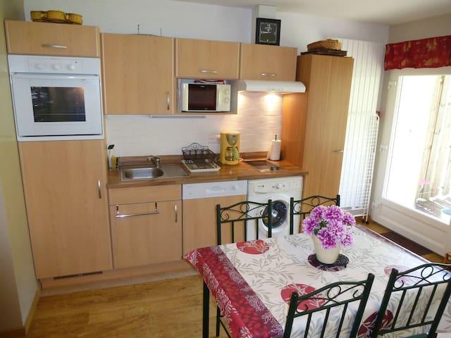 (G2) Appartement tout équipé, 1 / 4 pers,3 étoiles - Le Tholy - 아파트