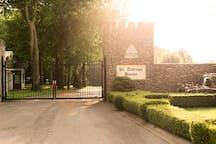 Neighborhood Gated Entrance