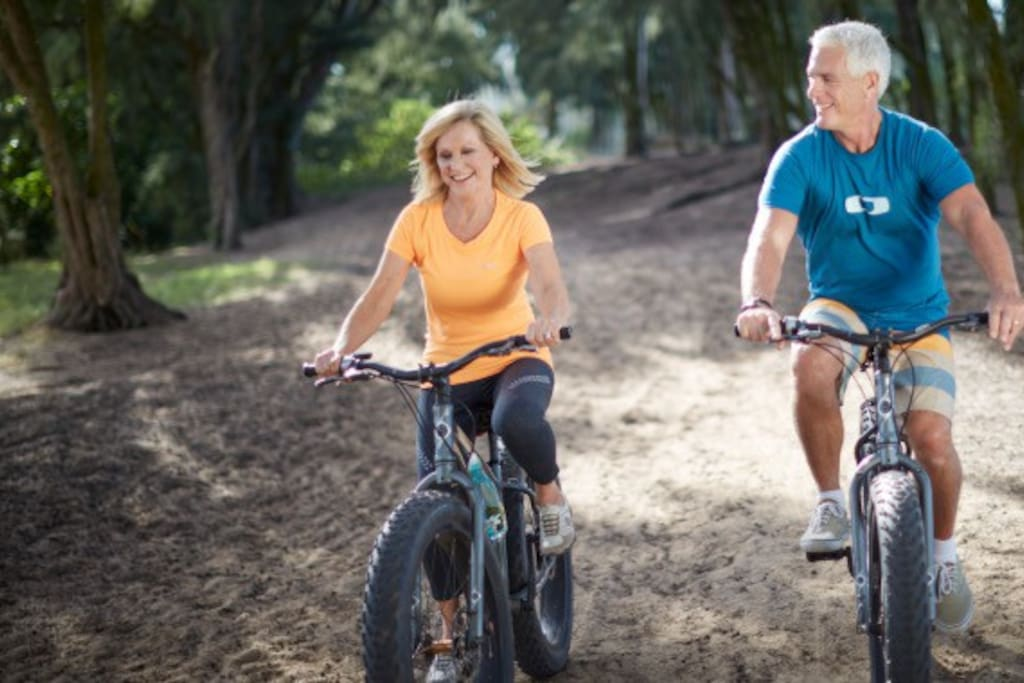North Shore Bike Park is located on property.  Enjoy a one hour bike rental with the included activity credit on over 12 miles of trails including 6 mountain bike single-track trails!