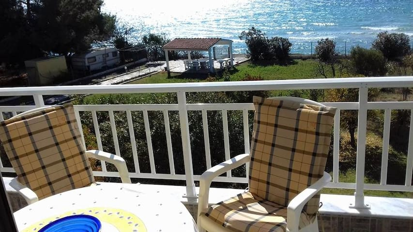 2 bedroom Flat in Nea Potidea RE0486 Rent-Flat - Nea Moudania - Lejlighed