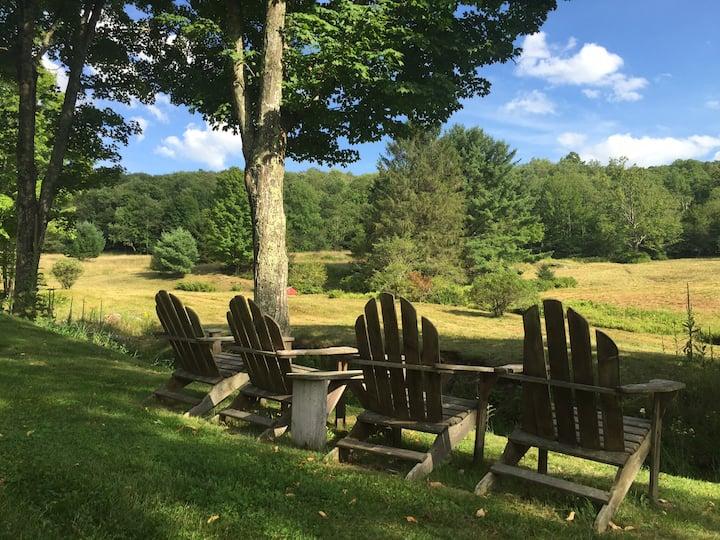"Catskill ""Covered Bridge Country"" Retreat"