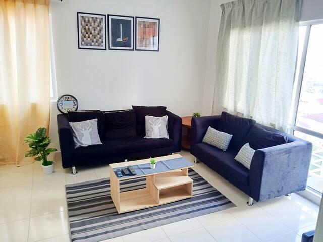 Cozy Apartment near IKEA,Alpha Fertility,Segi Uni