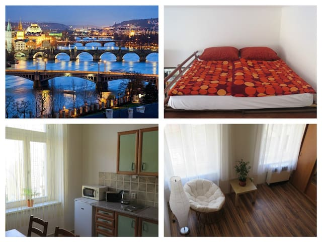 Comfortable apartment close to city centre - Praga - Pis