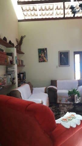 Sala da casa.