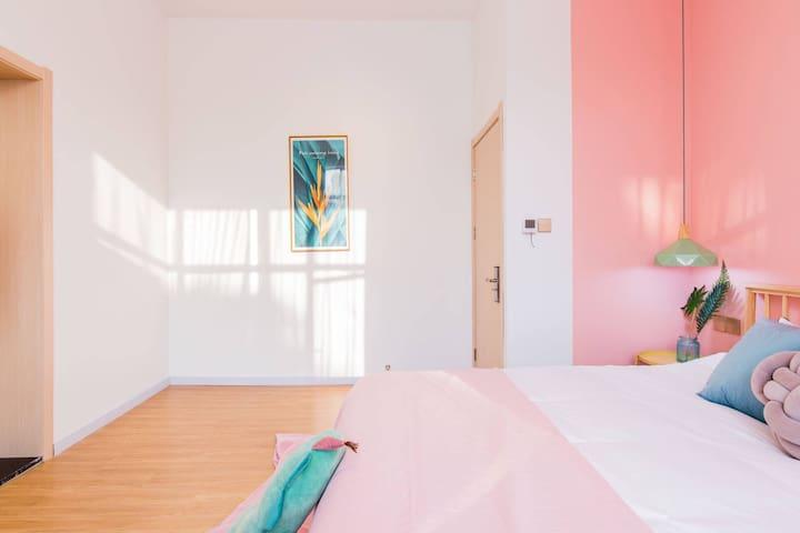 采云-樾DSN 野生动物园 含早餐 别墅北欧风格大床房