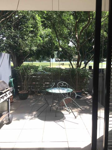 Great located apartment with park outlook