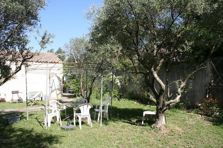 Location saisonniere appartement dans villa