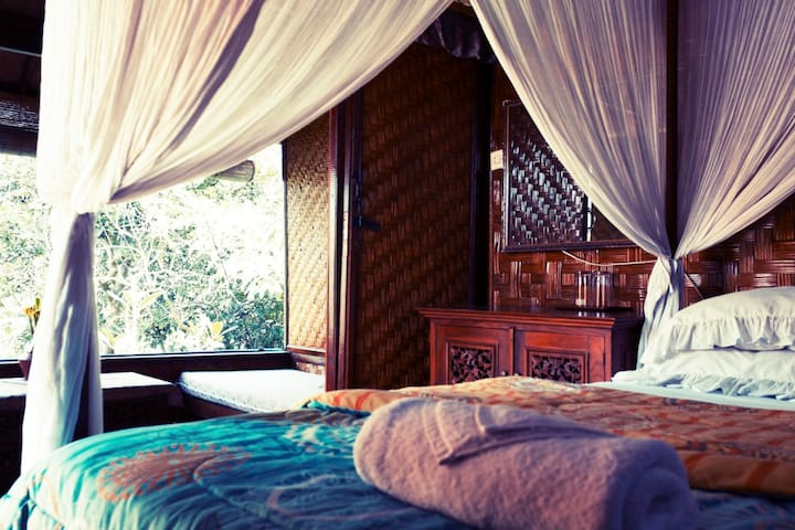Shankari bali Villa - West Selemadeg - Domek parterowy