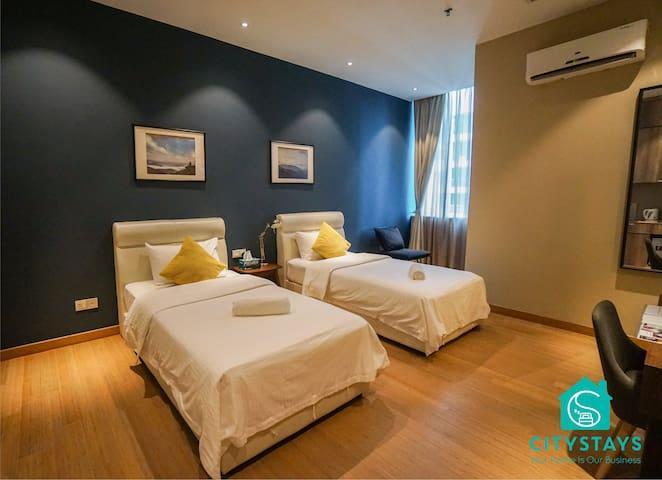 KL City Suite-2 pax@10 mins-Pavilion&Bukit Bintang