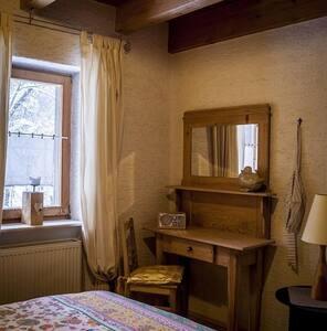 Grashöfle (Sankt Oswald), Ferienwohnung 3 mit Naturmaterialien ausgestattet
