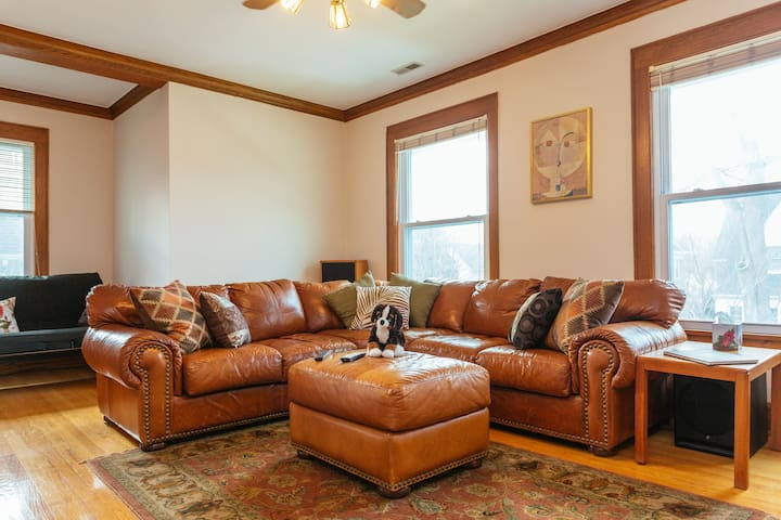 Bright and sunny 6-rm. apartment - Evanston - Byt