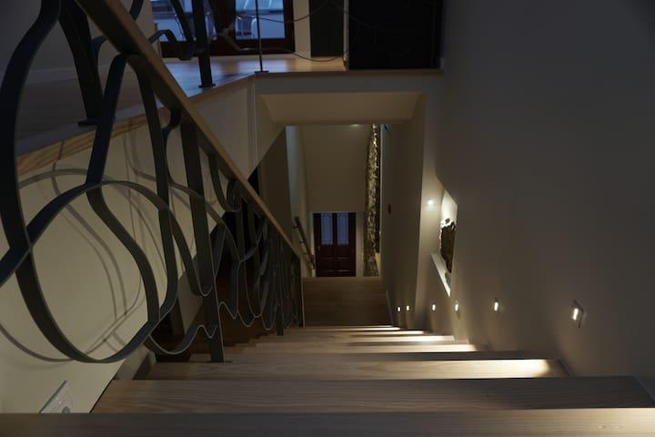 Escada de acesso ao Dormitório
