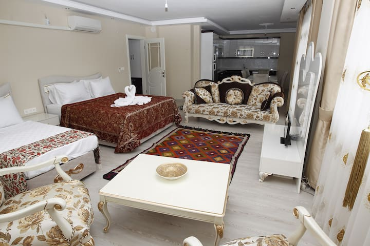 EPHESUS PALACE queen family room - Selçuk - Appartement