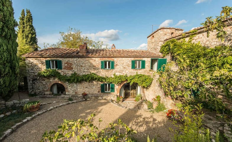 Camporempoli - Breathtaking Views on Chianti Hills - Province of Siena