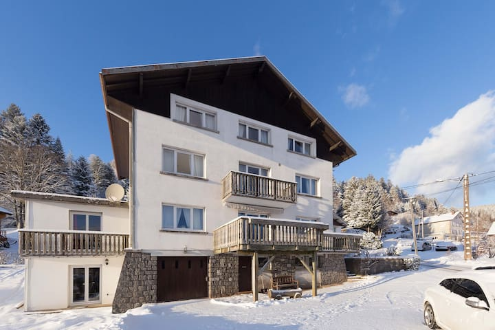 Studio-cabine 35m2 tout confort (3 personnes maxi) - Xonrupt-Longemer - Apartment