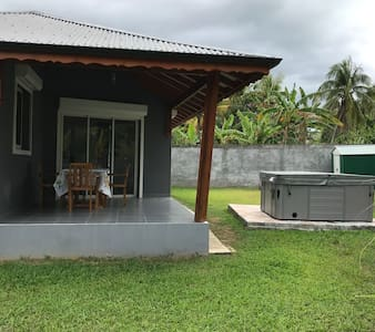 Bungalow Routh'Tibou - Location voiture possible