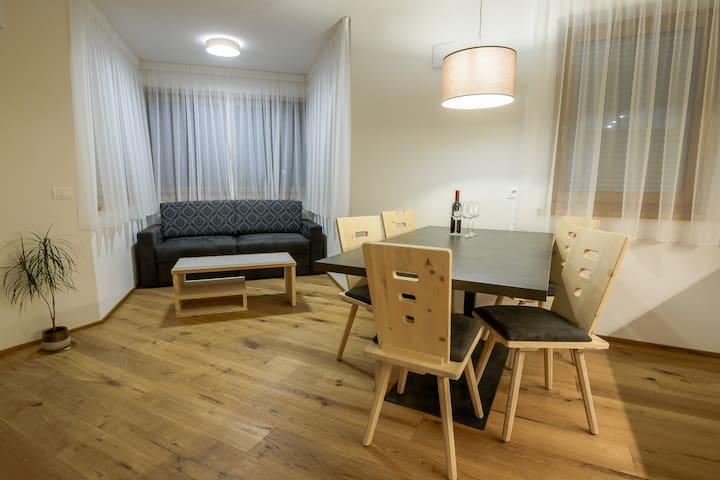 Appartment  no.2  75m²