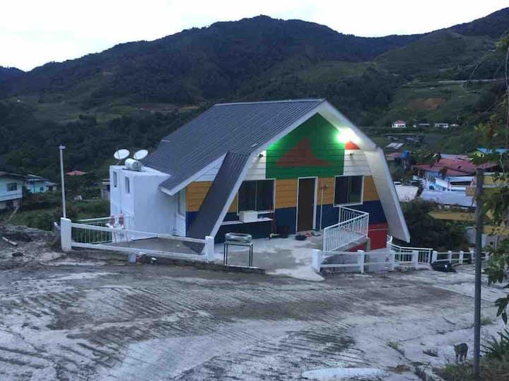 SH02 Syameen's Kampungstay - Sabah63 House UpFloor