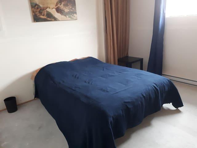 Grande chambre avec salle d'eau et salon privé