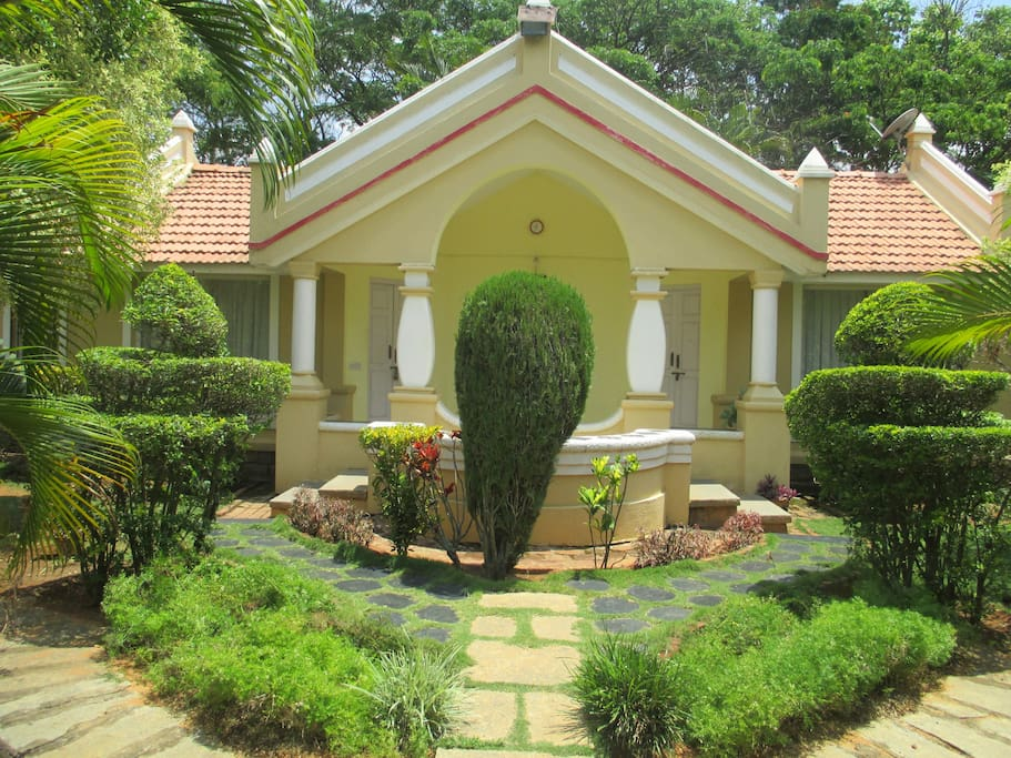 Cozy home with a pool amidst nature in bangalore vacation homes for rent in bengaluru Home furnitures bengaluru karnataka