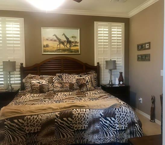 CASA di TRANQILLITA 1 to 3 Bedrooms in our home.
