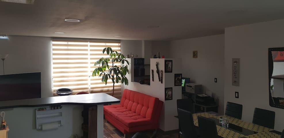 Habitacion privada en hermoso apartamento