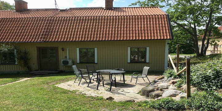 Norr Malma fårgård i Roslagens vikingabyggd