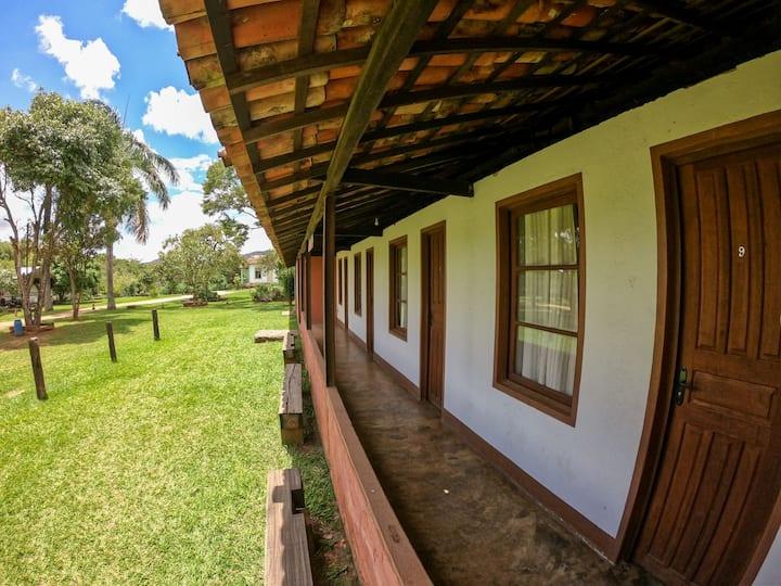 Suítes Varanda no Camping Tiradentes
