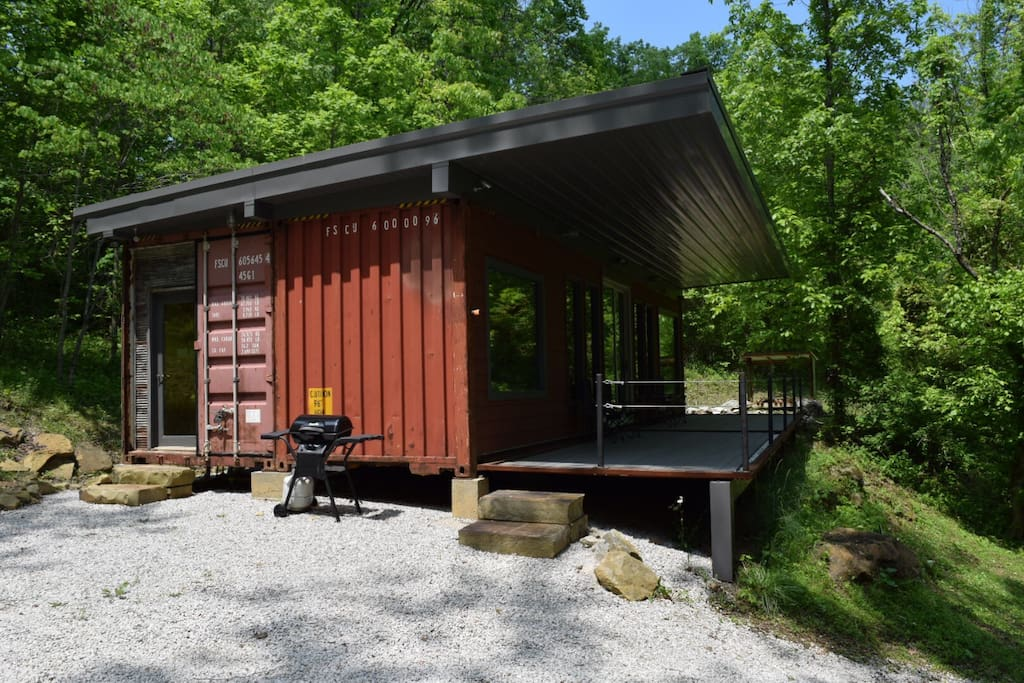 Shipping Container Cabin Cabins For Rent In Slade