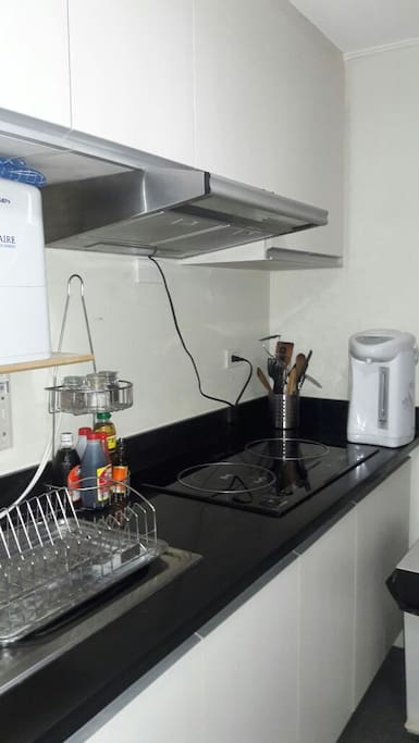 Full equipped kitchen + water filter