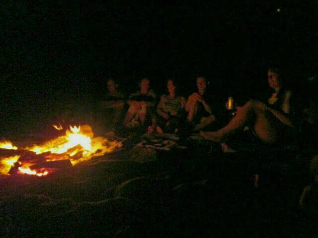 Do a Beach bonfire