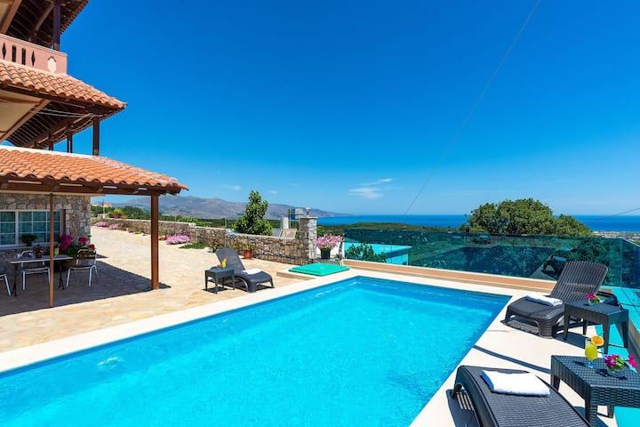 Polemarchi Villa, 4 BD, 3 BA, private pool