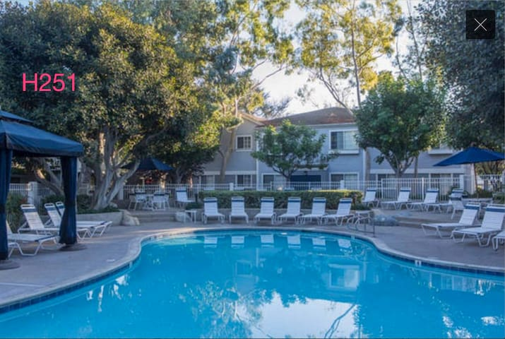 10mins to Disney Luxury 2BED/2BA-51 - Anaheim - Apartment